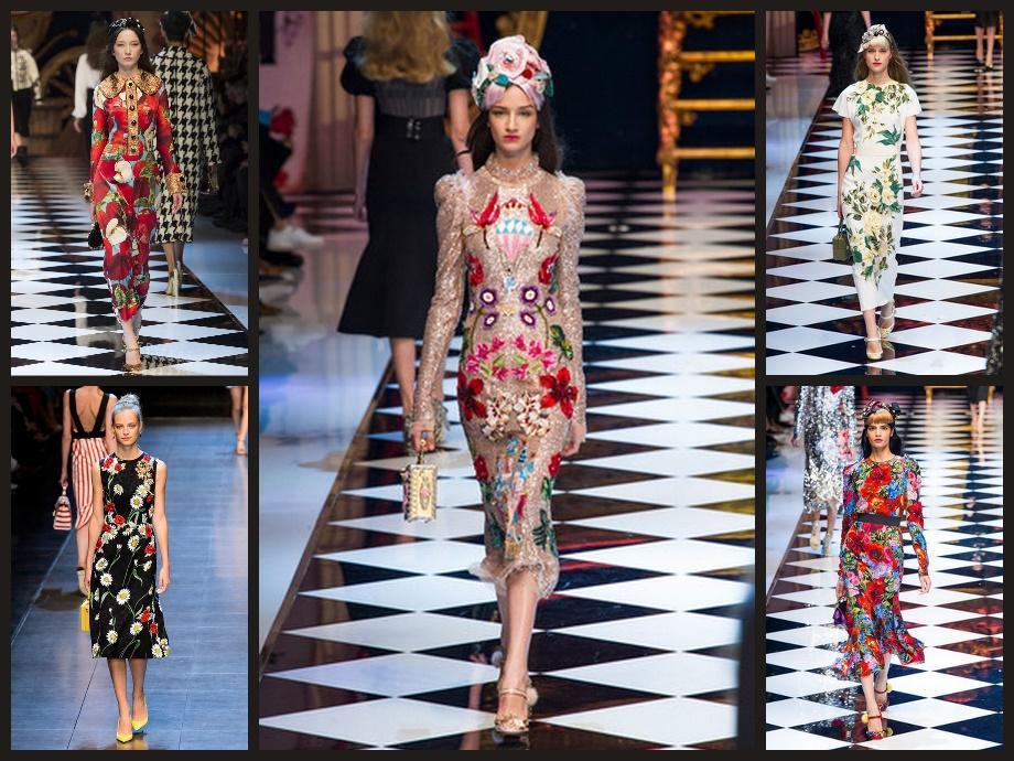 Dolce Gabbana Осень-зима 2016-2017