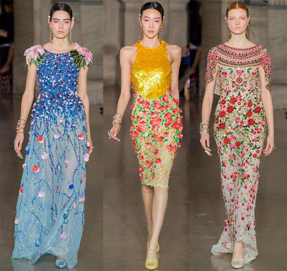 Роскошные модели из коллекций Haute Couture весна-лето 2017.