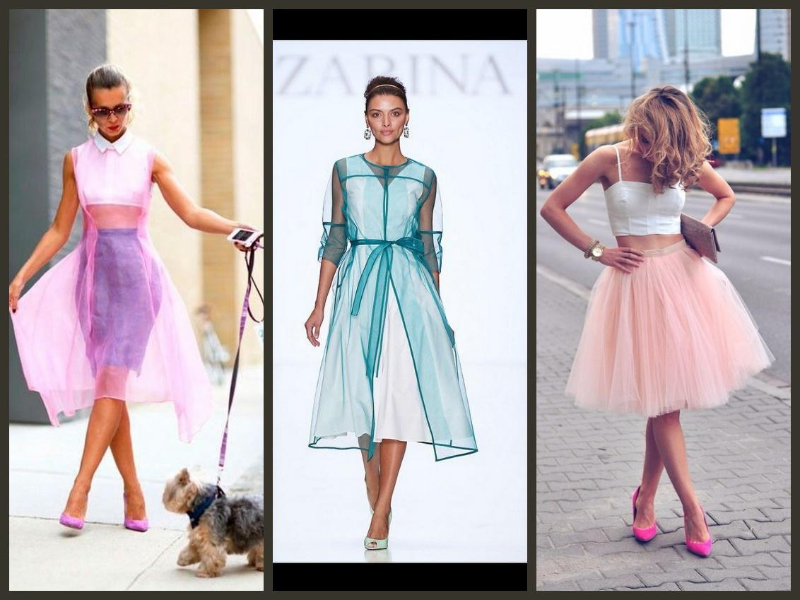 Но многие популярные бренды, предложили для сетки и фатина более респектабельные и традиционные образы