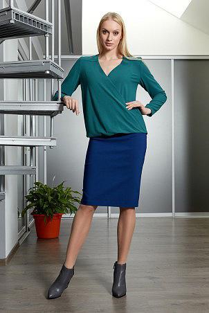 b9063_blouse_green_pb944_skirt