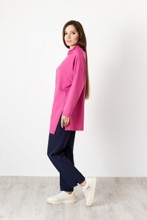 B20001_tunic_pink_B20002_trousers_blue