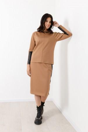 B21028_jumper_B21027_skirt_beige